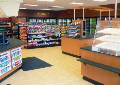 Kewaskum convenience store interior