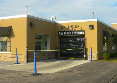 Express Auto Spa car wash entrance
