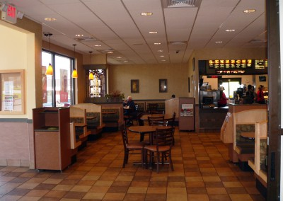 McDonald's interior